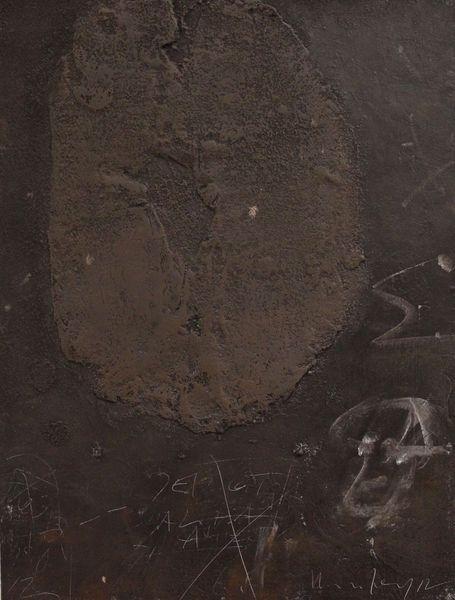 Acrylmalerei, Abstrakt, Holz, Mischtechnik, Sand, Informel