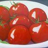 Früchte, Rot, Schale, Tomate