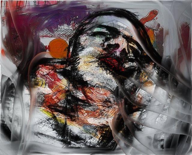 Traum, Fotografie, Leben, Mann, Fusion, Schlaf