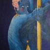 Tanz, Acrylmalerei, Hochzeitsnacht, Pol