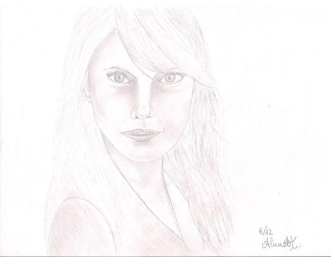Dame, Mädchen, Frau, Zeichnungen