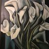 Die lilien, Tamara de lempicka, Lilie, Vase