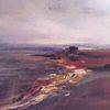 Landschaft, Wasser, Abstrakt, Malerei