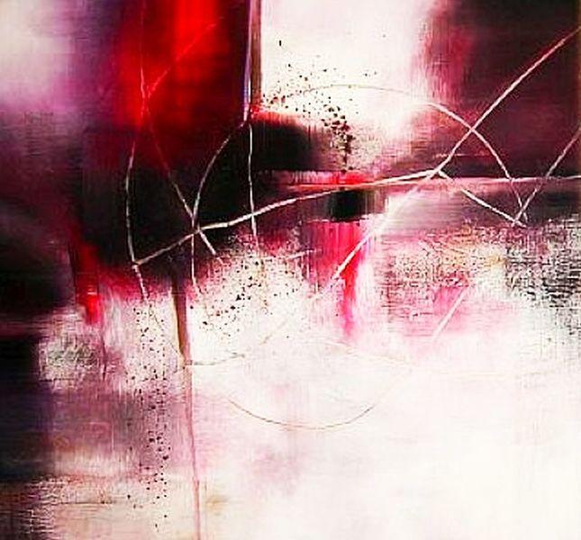 Abstrakt, Malerei, Landschaft,