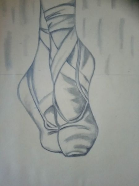 Frau, Ballett, Fuß, Tanz, Zeichnungen