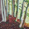 Impressionismus, Baum, Allgäuer, Expressionismus