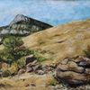 Landschaft, Baronnies, Malerei,