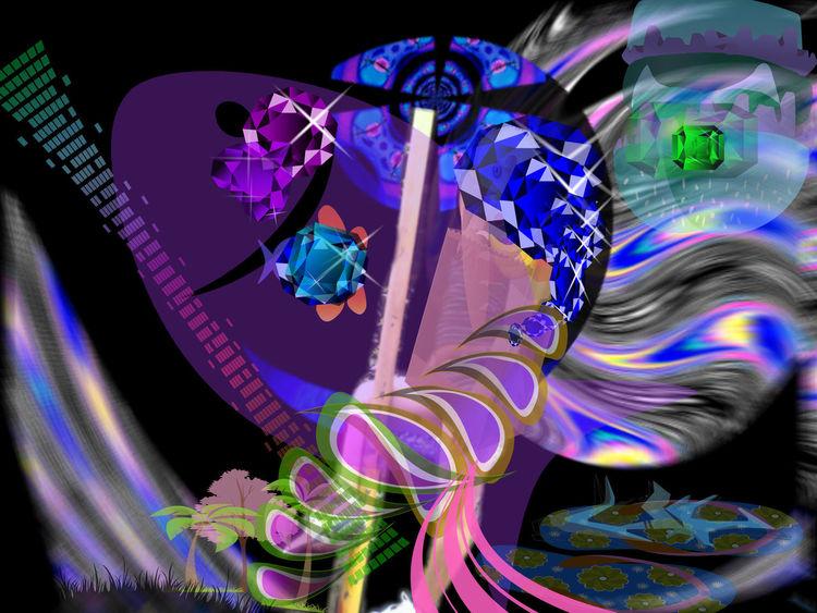 Outsider art, Bluthirnschranke, Digitale kunst, Digital