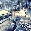 Strand, Outsider art, Balkon, Fantasie