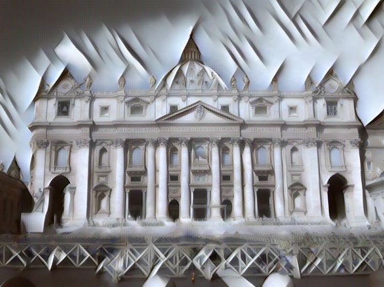 Rom, Dom, Vatikan, Kirche, Digital, Barrikade