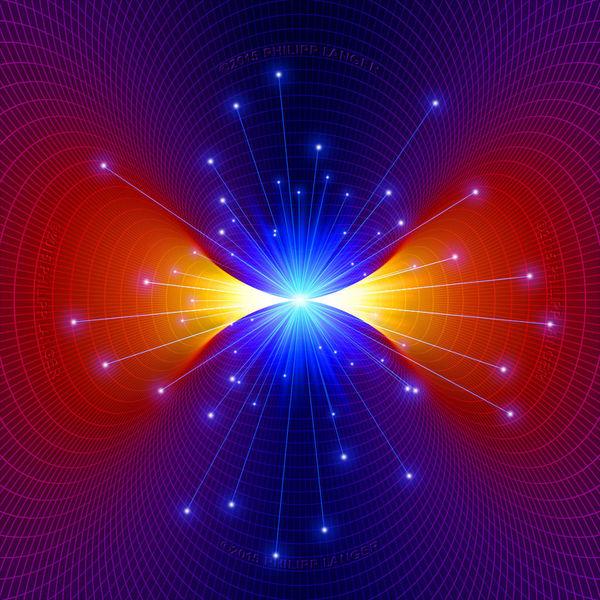 Energie, Kosmisch, Teilchen, Strahlung, Konzentration, Partikel