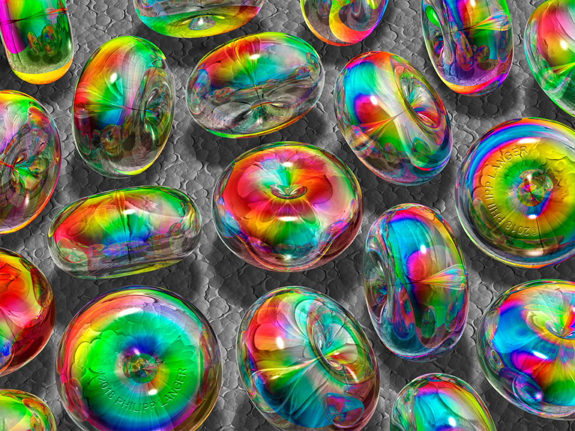 Spektrale tori glas farben f rmig spektralfarbe von for Tegee glas schaum glanz