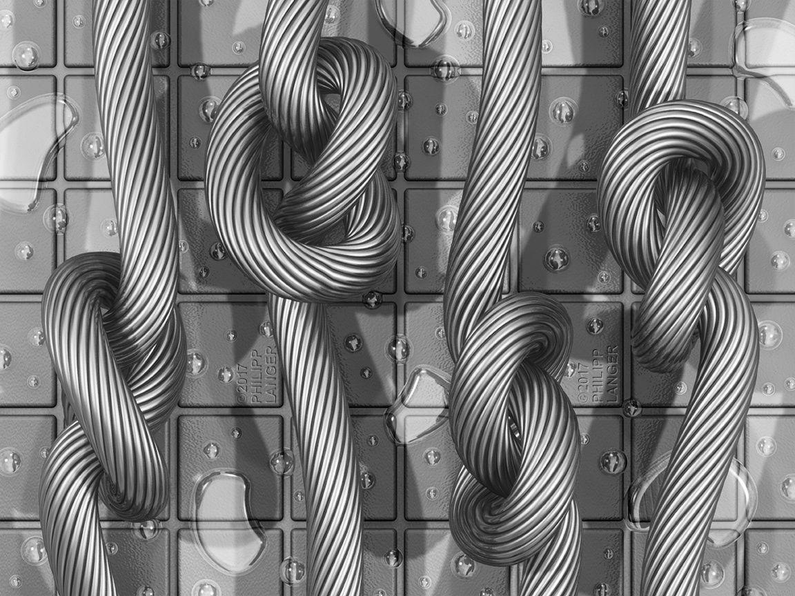 Bild: Knoten, Verknoten, Schlinge, Verschlingen von robolotion bei ...
