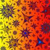 Farbspektrum, Orange, Glühen, Warm