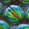 Perlen, Ellypsoid, Oval, Glas