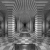 Symmetrie, Spiegelung, Kachel, Gebäude