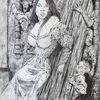 Frau, Dunkel, Albtraum, Gotik