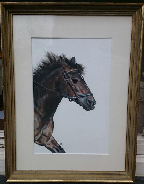 Stute, Pony, Pferde, Malerei