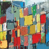 Rot schwarz, Hamburger hafen, Elbphilharmonie hamburg, Moderne kunst