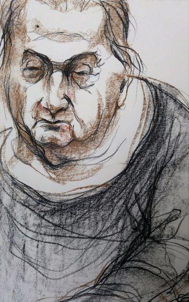 Mann, Portrait, Menschen, Zeichnungen