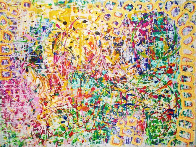 Modern, Dynamik, Dekoration, Expressionismus, Abstrakt, Farben