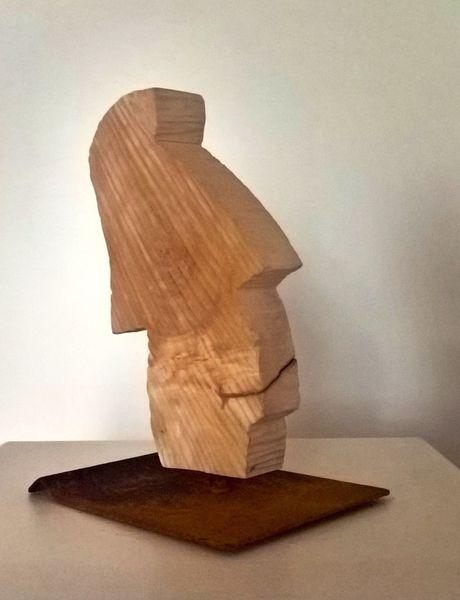Skulptur, Braunschweig, Holz, Plastiken, Abstrakte kunst, Holzskulptur