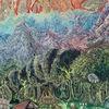 Fantastische malerei, Zauberwald, Ölmalerei, Berge