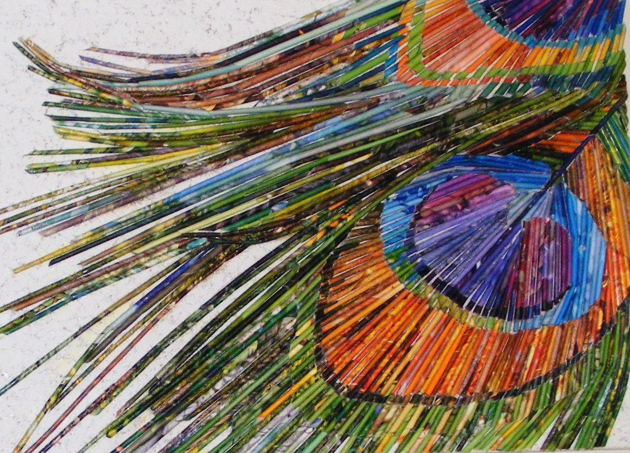 Bild Pfau Natur Wanddeko Geschenk Von Natasawa Bei