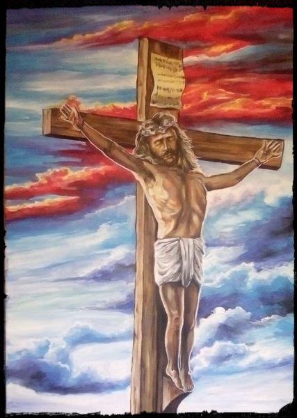 Christ, Vergebung, Sünde, Kreuz, Jesus christus, Himmel
