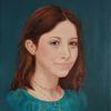 Jugend, Portrait, Ölmalerei, Mädchen