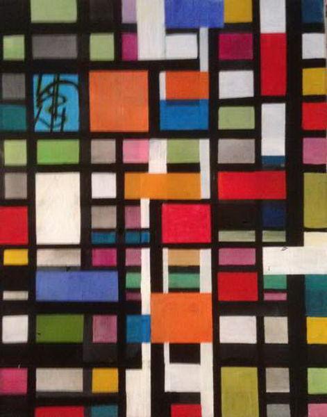 Formen, Malerei, 2014