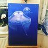 Wasser, Ostsee, Blau, Ölmalerei