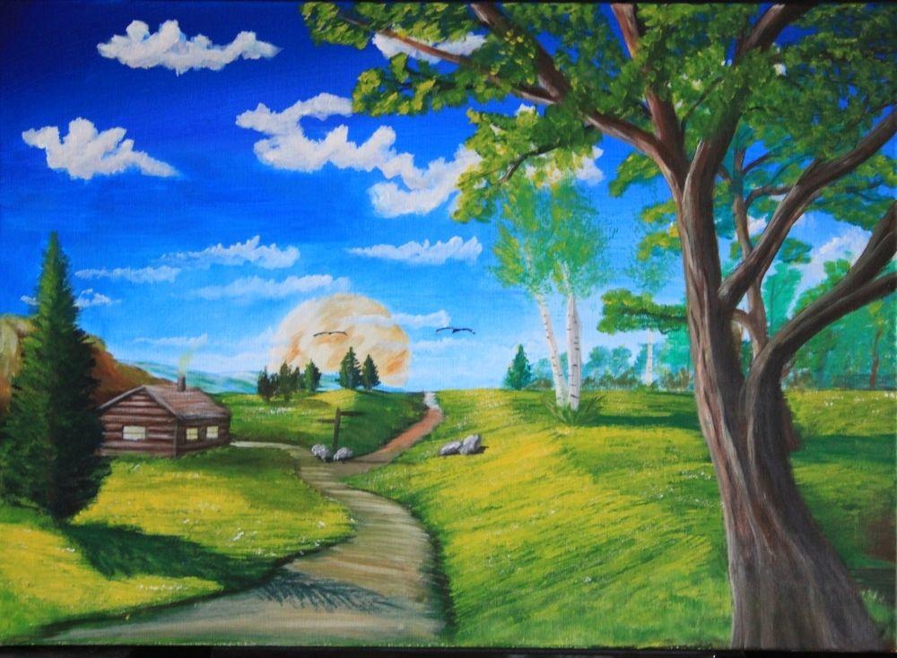 Natur Malerei