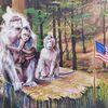 Stein, Angst, Affe, Usa
