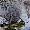 Natur, Schloßau, Saugasse, Winterlandschaft