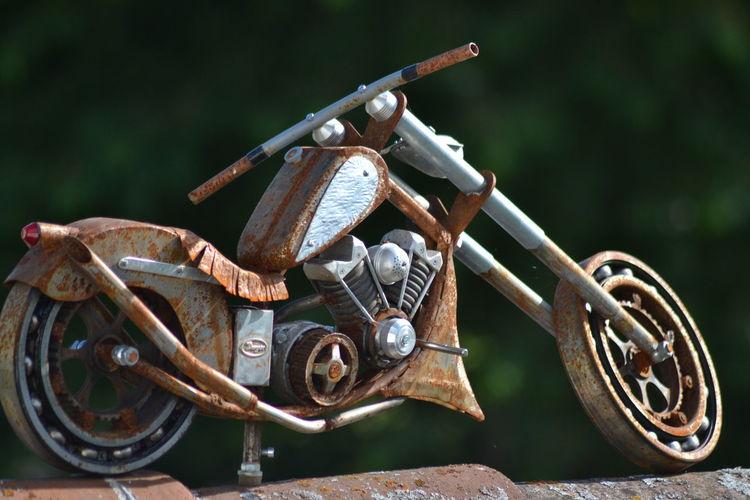 Dach, Sontheim im stubental, Motorrad, Easy rider, Kunsthandwerk, Born