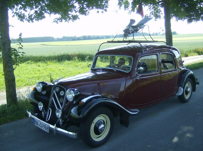 Traction avant, Kunsthandwerk, Metall, Auto, Fliege