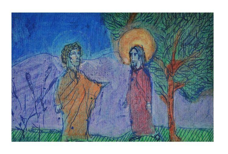 Jesus, Garten, Baum, Judas, Nacht, Verrat