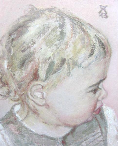 Kinderportret, Malerei, 2013,