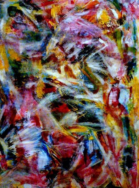 Farben, Bunt, Abstrakt, Mischtechnik