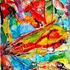 Ausdruck, Farben, Abstrakt, Aquarellmalerei