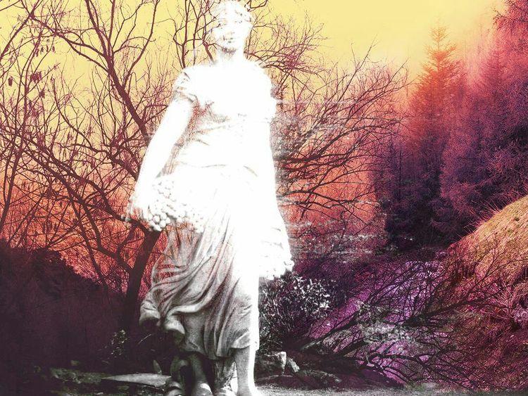 Seele, Natur, Geist, Menschen, Digitale kunst