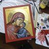Heilige anna, Ikonen, Religion, Malerei