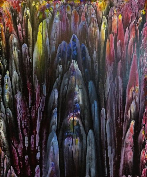 Meer, Experimentelle, Welt, Bewegung, Veränderung, Experimentelle malerei
