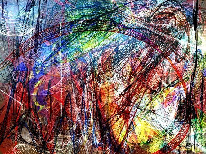 Regenbogen, Malerei
