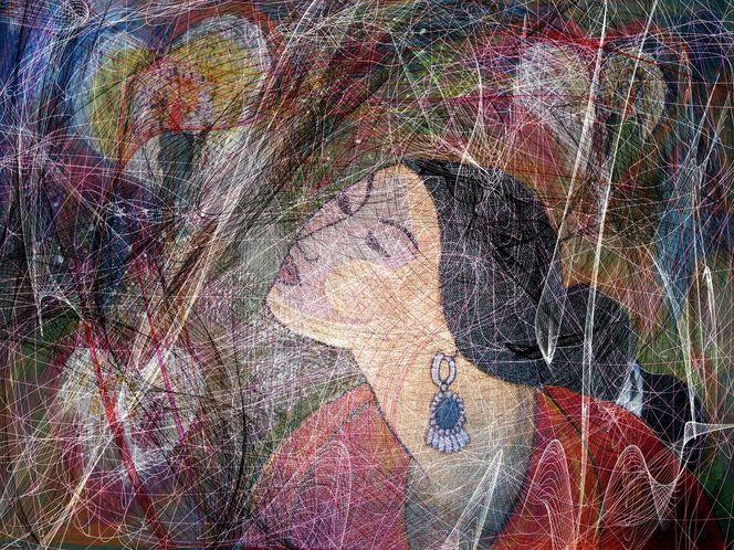 Schwingung, Liebe, Malerei