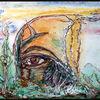 Sepia, Teilsicht, Farben, Ölmalerei