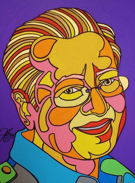 Malaysia, Mahathir, Prime minister, Malerei