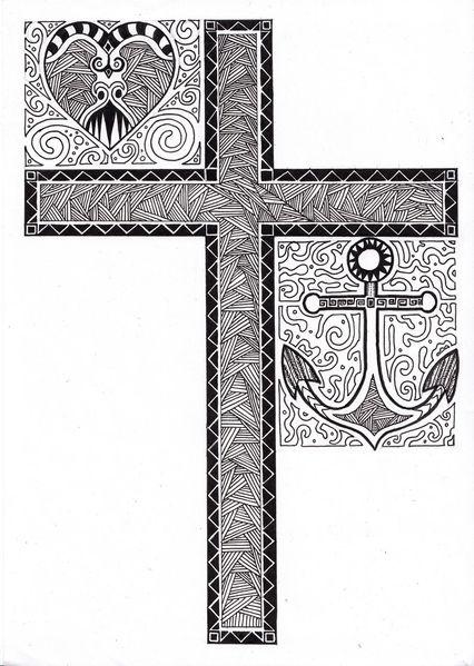 Illustrationen, Hoffnung, Glaube, Liebe
