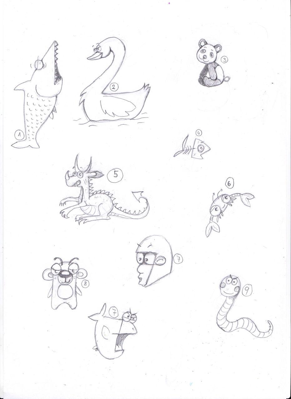 Tiere Aus Zahlen Malen